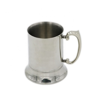 Wholesale China Hot Sale   Food Grade 16 oz  Double Wall Stainless Steel  Tankard