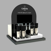 Custom acrylic cosmetic display counter, high quality counter display