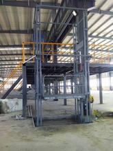 Electric hydraulic vertical cargo lift/warehouse used goods elevator