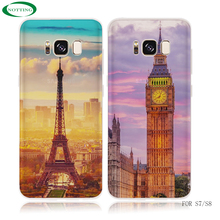 2017 new product soft TPU beautiful custom printing phone case for samsung galaxy s8 case