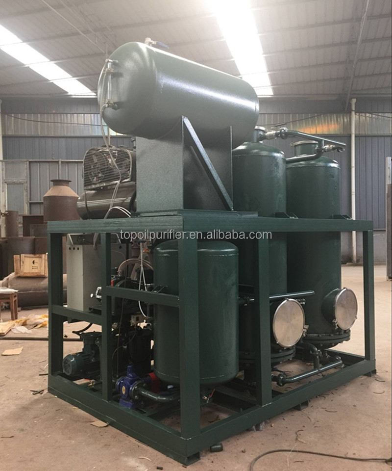 Black Engine Oil Bleaching Machine/ Tire Oil Decoloring Equipment