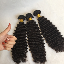 Grade 8a brazilian hair weaves afro kinky curly human hair weft for black women