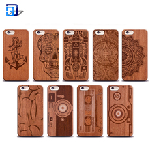 Cellphone hard wood mobile phone covers for iphone 6s case