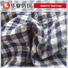 yarn dyed crepe shirt fabric/textile and fabric