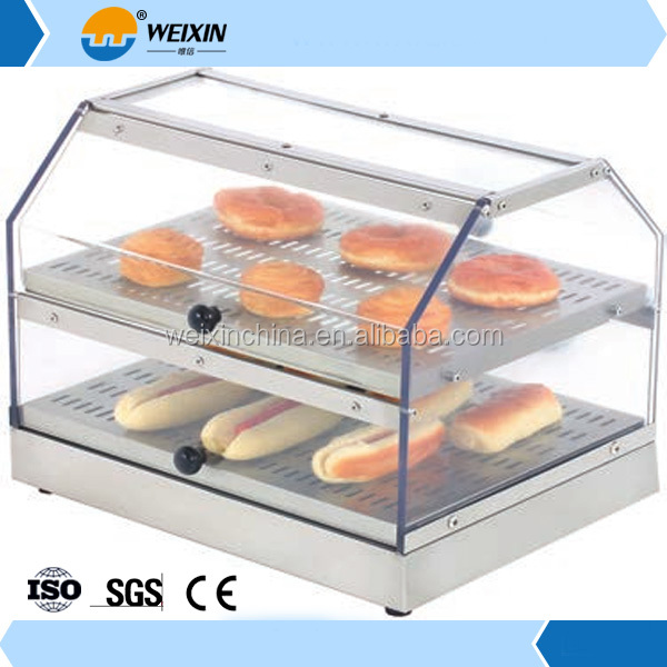 Food Display Hot Counter/ Stainless Steel Food Warmer Counter