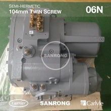New 06NA2300S5NC 06NA2300S5NA Carrier Carlyle Refrigeration Screw Compressor for Air Cooled Chiller