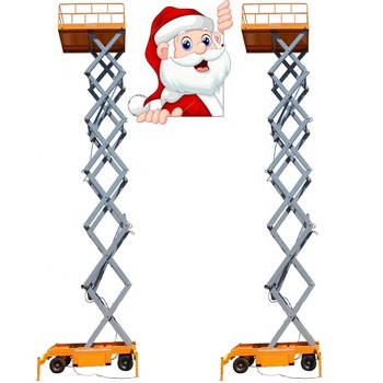 500kg loading capacity AC/DC/petrol/diesel power scissor lift