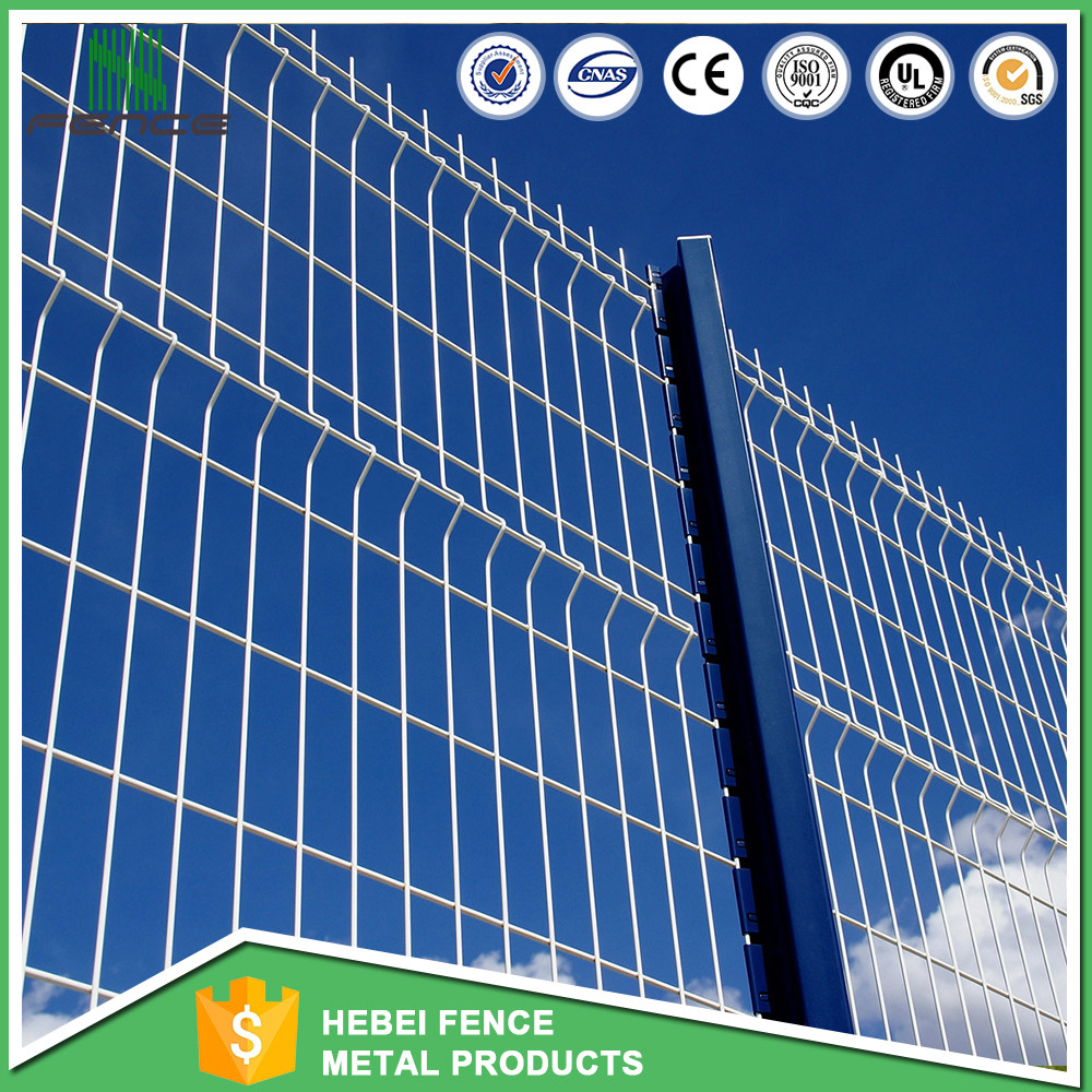 Hot sale green vinyl coated cheap decorative clear panel fence panels