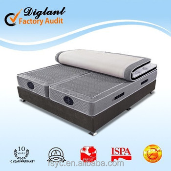 Dream collection euro top memory foam spring china mattress #A29-PN27#