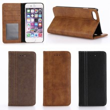 classical business leather wallet cover case for apple iphone 7 8, for iphone7 8 cases