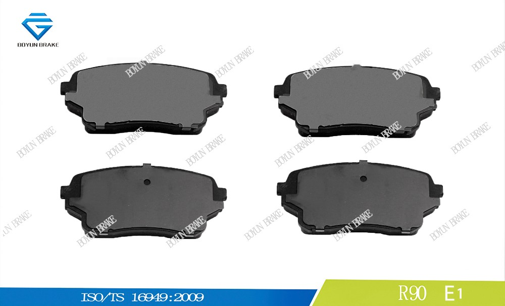 Car spare parts brake pad for SUZUKI D1105 55200-50J01 WVA 24301