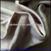 100% polyester satin shape memory fabric for bomber jacket
