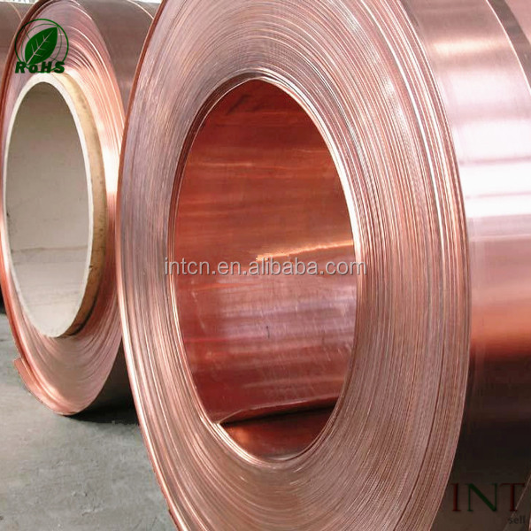 Chinese metallurgy polished strip Phosphor copper