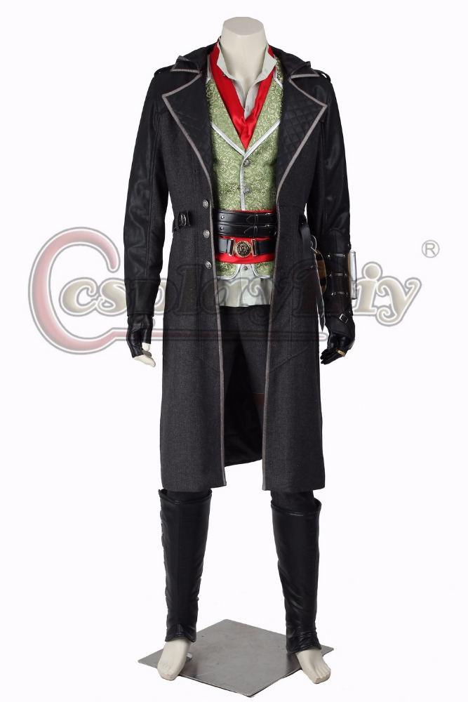 Assassins Creed Cosplay Costume Assassin's Creed Syndicate Jacob Frye Cosplay Outfit For Adult Men