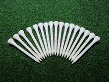 Great quality 70mm white wooden golf tee