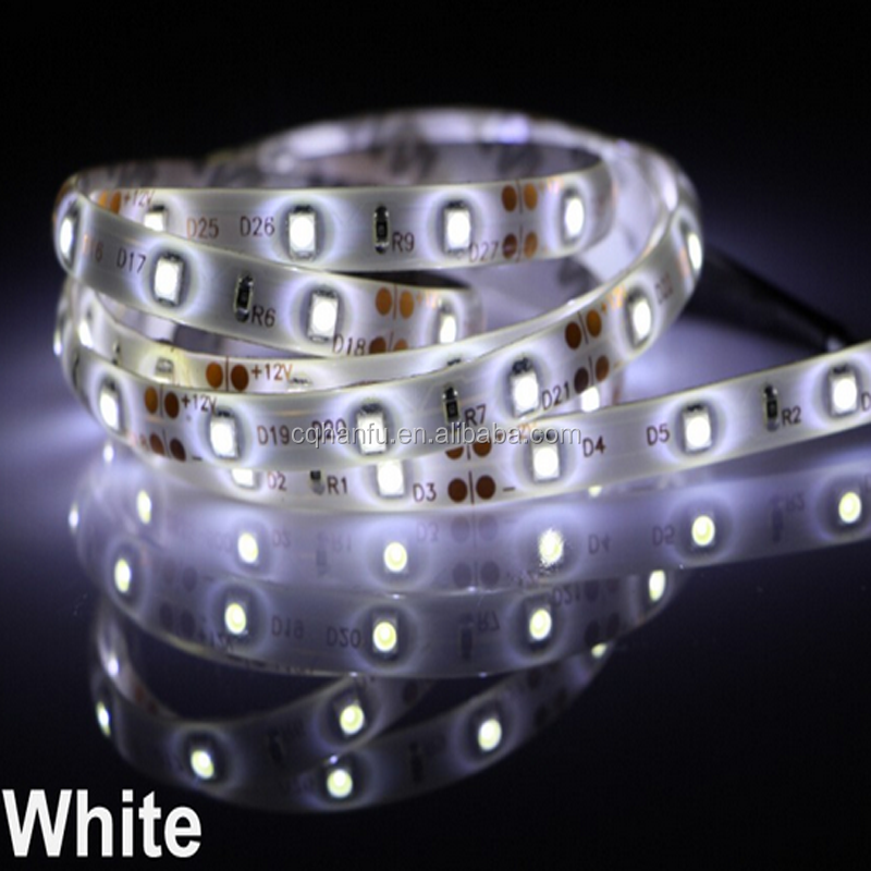 PVC lamp body materials and fex 6lm per led white 3528 led strip lamp