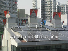 1KW rooftop solar panel mounting system, solar panels control system, complete solar panel kit