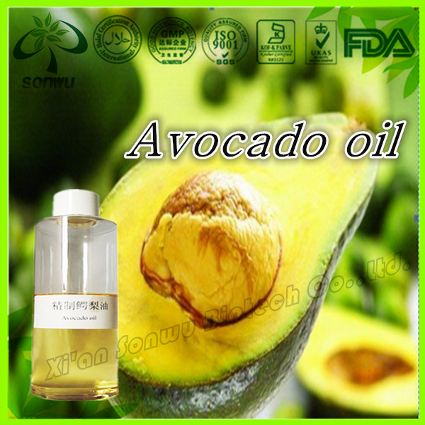 How do you extract oil from an avocado seed?