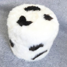 Wholesale genuine sheepskin round lazy couch sofa pouf furniture