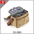 Colorful eco-friendly small canvas dslr camera bag insert