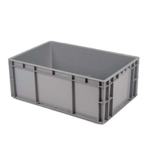 Industrial utility blue containers for logistic transportation