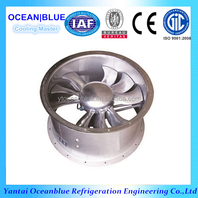 6 Blades Axial Flow Fan For Refrigeration Equipment