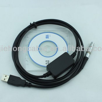 DOC129 5 pin USB data cable for Topcon Total Station