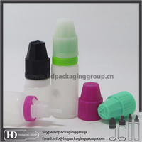 50Ml Pen Shape E Liquid 20Ml Pet Bottle With Long Thin Tip Top Cap With Tamper Ring