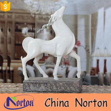 china supplier new products white deer seashell material table decoration NTRS-AD013X