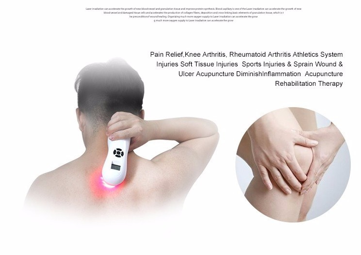 handheld pain relief laser therapy device