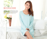 breast feeding clothes comfortable cotton girls sexy sleepwear