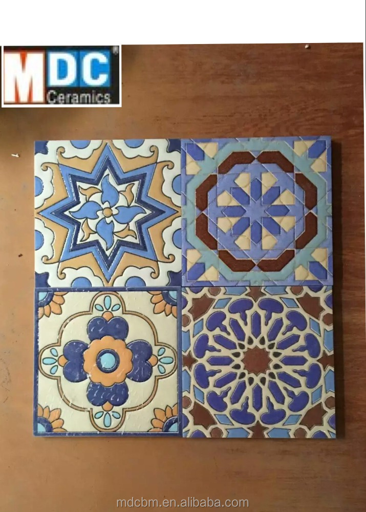 300*300mm China professional manufacturer morrocan rustic handmade cement <strong>tiles</strong>