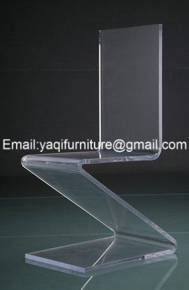 high transparent elegant clear acrylic chairs