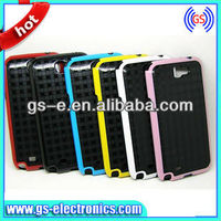 glen check style double color case for Samsung Galaxy Note 2 N7100