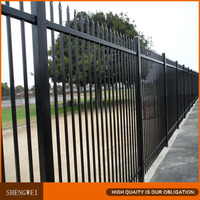High quality gates and steel fence design