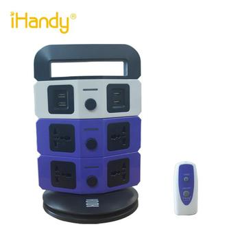 IHandy ST-RM03-46 ultradunne 3 layer universele extension elektrische outlet extension timer tijd instelling socket met EG/EU/CN plug