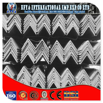 hot selling pre galvanized equal steel angle
