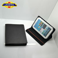 High Quality Universial Leather Case For 9 Inch Tablet PC Laudtec