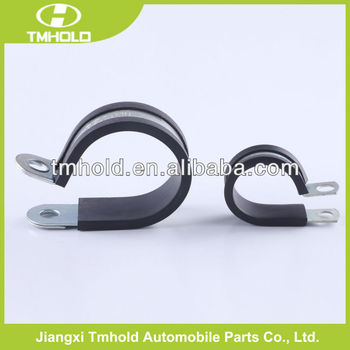 20mm bandwidth EPDM Rubber Covered fixing P compressed air hose clamps
