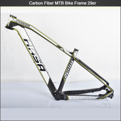 Best selling 29 Inch MTB Carbon Bicycle Frame , mtb carbon frame 29er Carbon Bicycle Frame