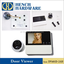 Security camera video door peep hole digital camera