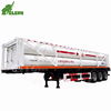 8 tubes cng tank trailer skeleton chassis truck for sale