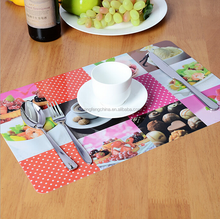 High quality plastic clear dining table mat,kitchen table mat for kids