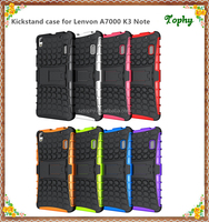 8 Colors Hard PC+Soft TPU Phone Case Cover Skins For Lenovo K3 NOTE A7000