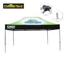 Trade show 50mm octagon aluminum frame outdoor promotional event folding tent