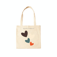 custom high quality eco fashion cotton bags for girls