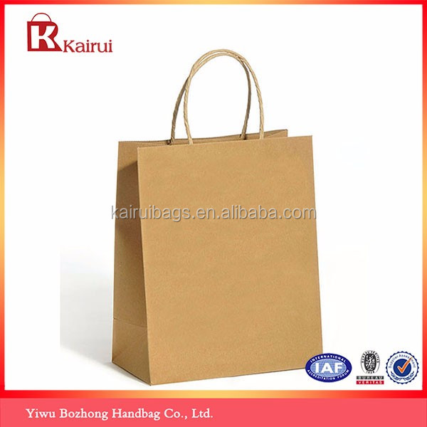 Custom Design Colorful Tote Handmade Gift Craft Paper Bag