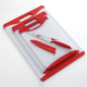 Dishwash Safety Non-Silp 3PCS Plastic Cutting Board Set Kitchen Chopping Board with Knife Set