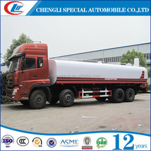 Dongfeng 8X4 Big Volume 35CBM Oil Tank Truck 35000L Fuel Bowser Truck For Sale