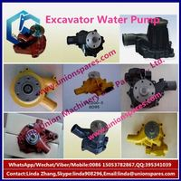 OEM R300-5-8 excavator water pump 6CT engine parts,piston,ring,connecting rod,cylinder block head